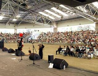Unas 5 mil personas se dieron cita para escuchar a Manito.