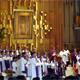 Mons. Christophe Pierre, Nuncio Apostólico en México, preside la misa de envío de Juventud y Familia Misionera en México.