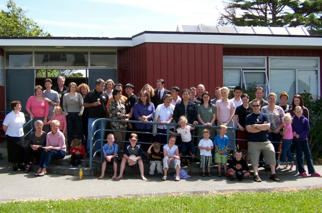 Regnum Christi members at a Christ the King Day celebration in Auckland, New Zealand.