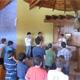 El P. Juan Gerardo Limón, L.C. celebró la Eucaristía e impartió el sacramento de la reconciliación a aquellos jóvenes que la pedían.