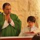 Durante esos días se tuvieron celebraciones eucarísticas con la participación de muchos de los niños.