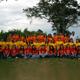Foto de grupo de Soñar Despierto de Colombia, acompañados del P. David Jiménez, L.C.