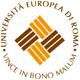 Il logo dell�Università Europea di Roma