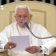 Pope Benedict XVI spoke about his upcoming trip to the Holy Land during the general audience on May 6, 2009.