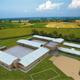 Maqueta con el proyecto del Colegio Mano Amiga Zipaquirá. Las instalaciones podrán albergar a 900 alumnos.