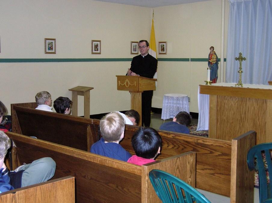 Fr.  Aaron Dean Vinduska